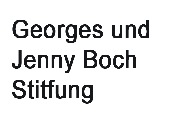 Georges un Jenny Boch Stiftung